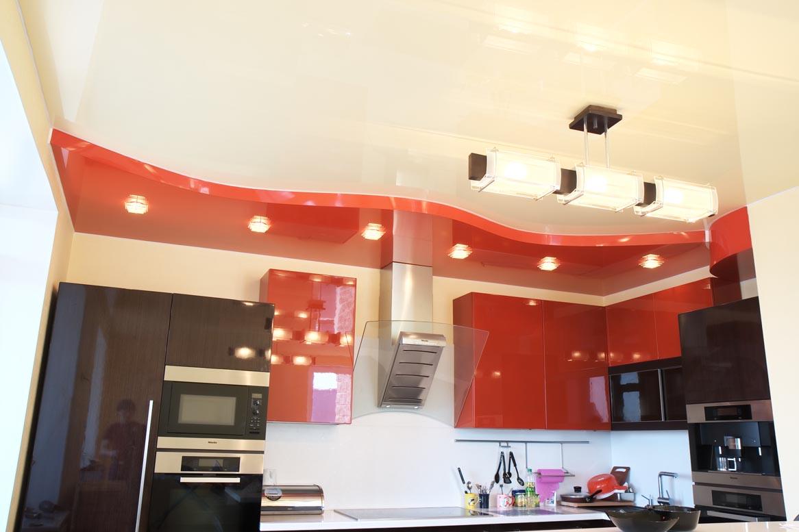 Как Сделать Подвесной Потолок на Кухне Своими Руками 58