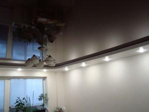 Многоуровневый натяжной потолок производства Бельгия от компании Арт-Стандарт в Саратове