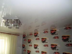 Глянцевый натяжной потолок производства Бельгия от компании Арт-Стандарт в Саратове