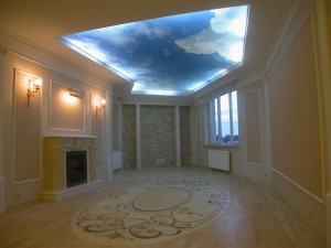 Фотопечать потолок саратов